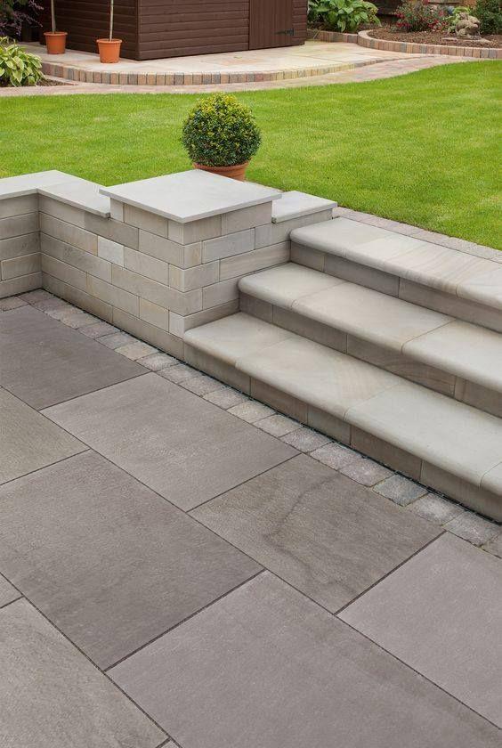 13 diseños de escaleras que se verán geniales en tu patio. ¡Le darán un toque muy elegante a tu casa! - Un millón de IDEAS.