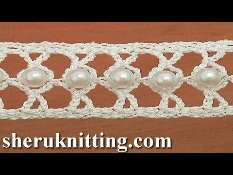 How to Crochet a Beaded Narrow Tape - Tutorial - Page 2 of 2 - ilove-crochet