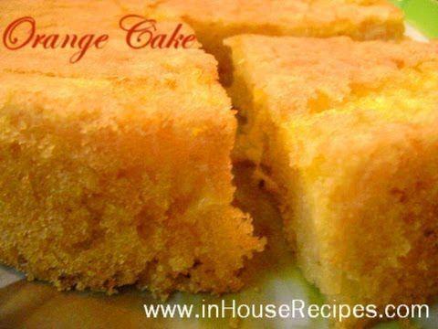 ▶ Orange Cake In Cooker Recipe - Hindi with English Subtitles - inHouseRecipes - YouTube