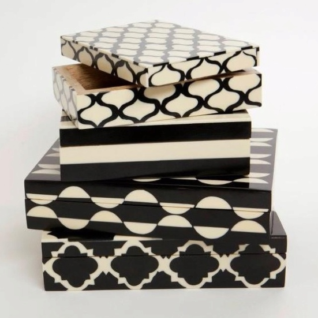 Black And White Decorative Boxes 76 Best 装饰盒 Images On Pinterest  Decorative Boxes Decorative