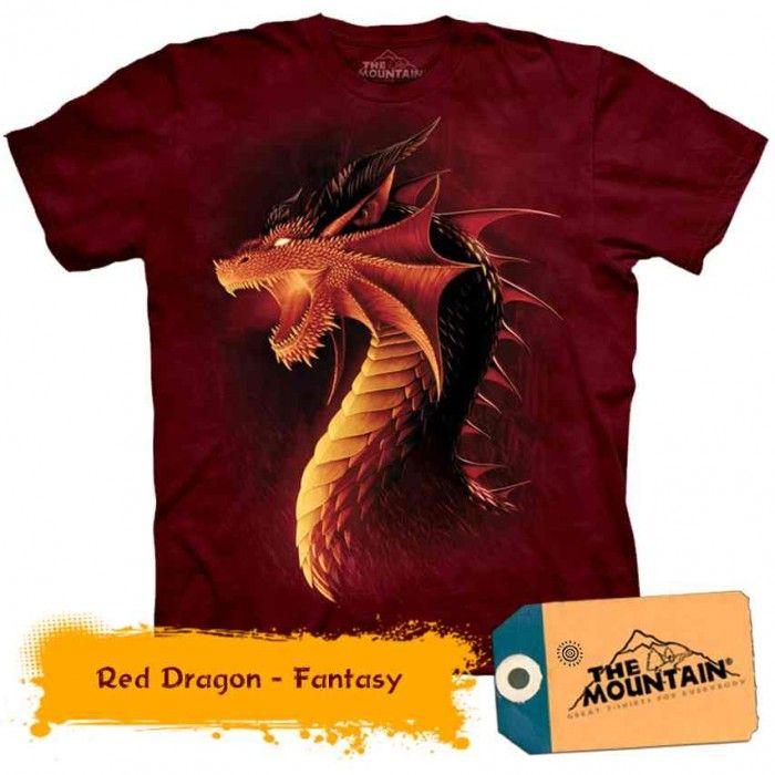 Tricouri The Mountain – Tricou Red Dragon