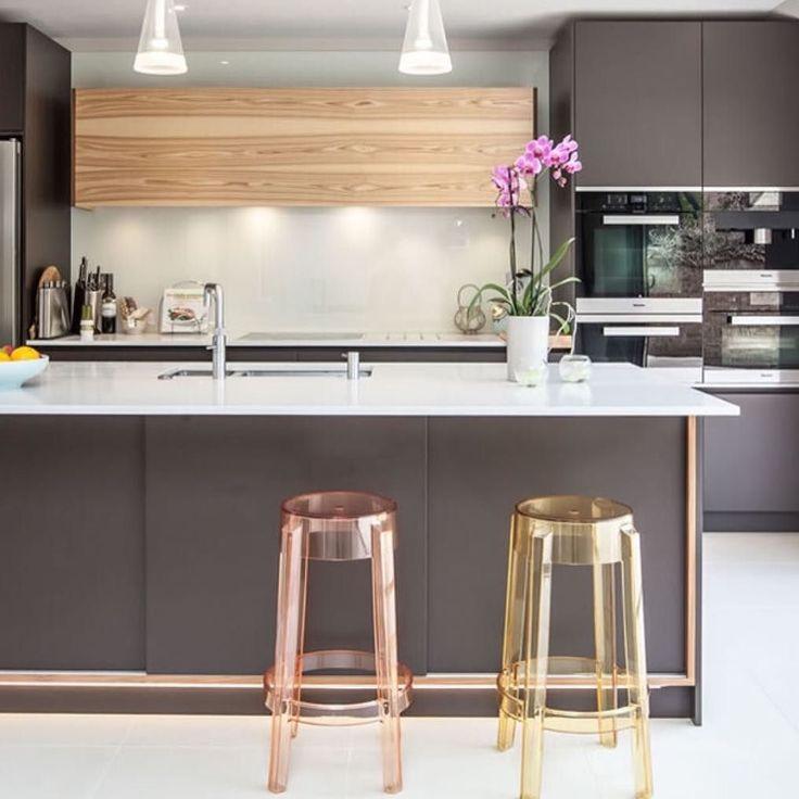 acrylic counter stool more banquetas de acrlico para dar aquela leveza ao projeto kitchen cozinha design