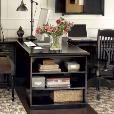 25 best ideas about two person desk on pinterest 2 person desk home office desks ideas and. Black Bedroom Furniture Sets. Home Design Ideas