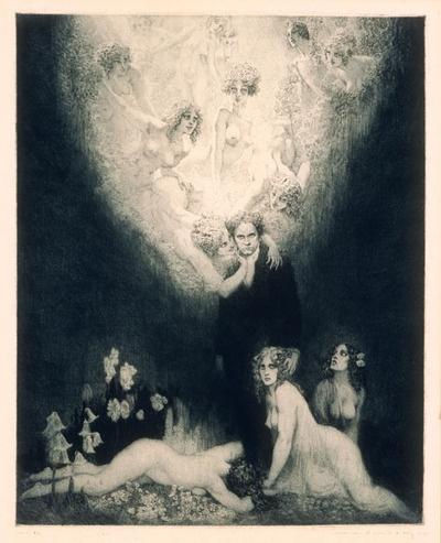Norman Lindsay (1879-1969) The c. Sharp Minor Quartet, 1927
