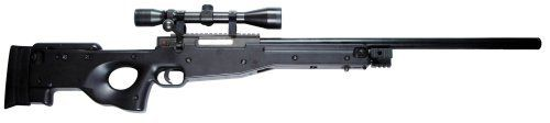 TSD Tactical L96 High Powered Bolt Action Spring Powered Airsoft Sniper Rifle (Black) by TSD Tactical. $179.95. The TSD Tactical SD96OD is an OD Green high powered bolt action sniper rifle that includes a 3X9 40 magnification scope and 2 spare magazines.  The effective range is about 120 feet and it can fire 0.20g BB's at 460-480 FPS.