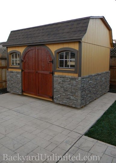 78 Images About Storage Sheds Studios Amp Backyard