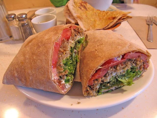 Vegan Sandwich .