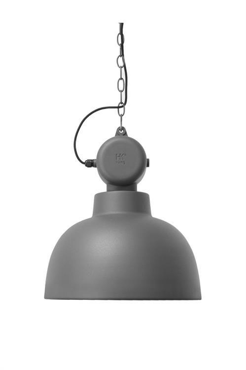 Products details - Verlichting - Lamp 'Factory' M matt grijs