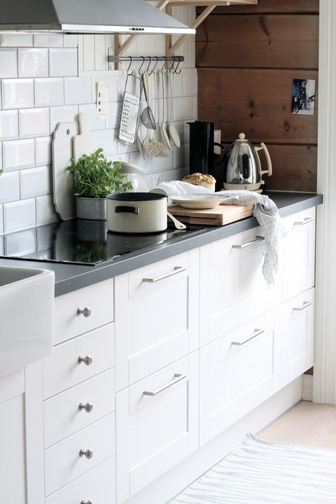 Lots of drawers is key. In a workable kitchen