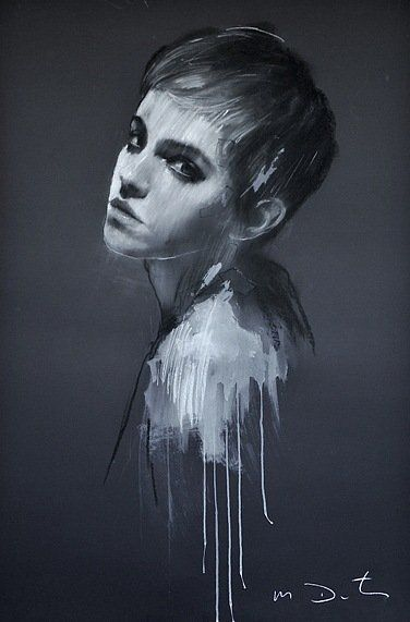 Mark Demsteader // Illustration Art Emma Watson