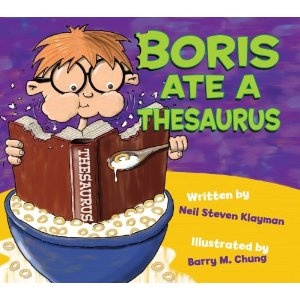 This book is GREAT for teaching synonyms!: Ideas, Books, Steven Klayman, Reading Aloud, Language Art, Neil Steven, Boris Ate, Kids, Teaching Synonyms
