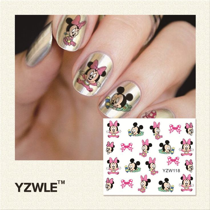 20 best Nail Stickers - Nail Art images on Pinterest | Nail art ...