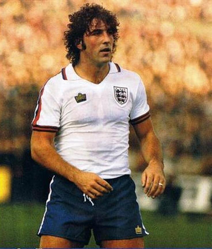 Bob Latchford, England and Everton
