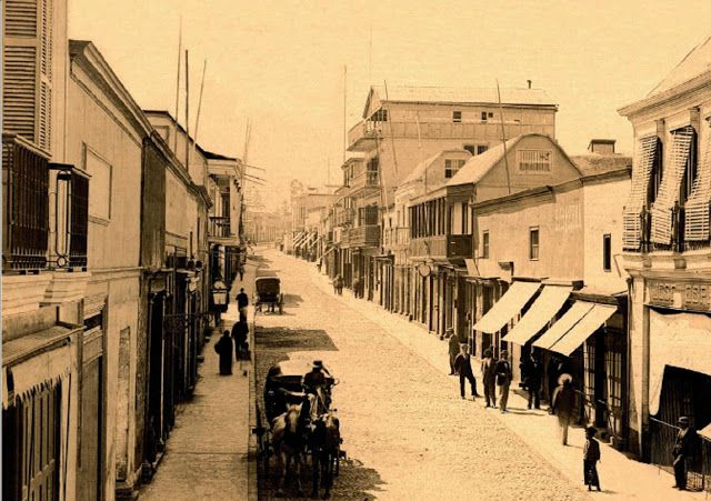Imágenes de Chile del 1900: Tacna, en el 1900. Primera comuna al norte de Chile