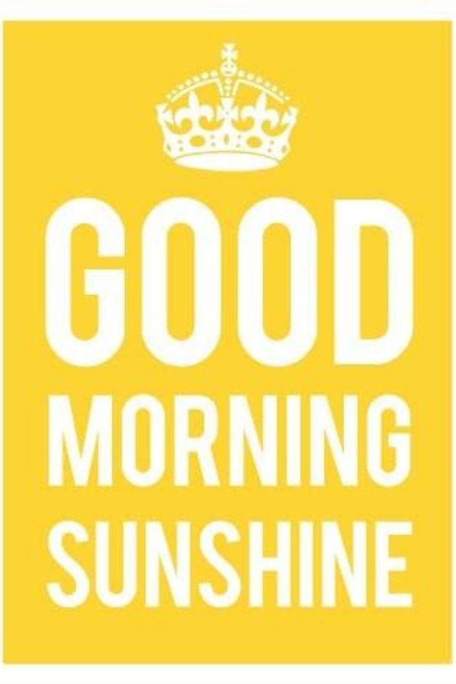 Good morning sunshine!! Have and amazing Tuesday!!! Xoxo~Ashley