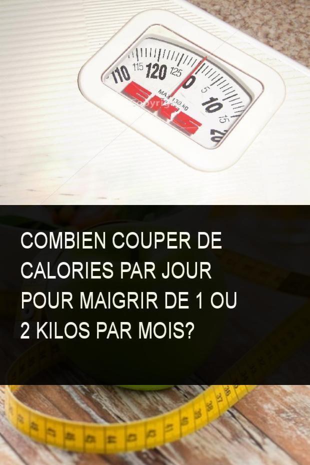 Combien couper de calories par jour pour maigrir de 1 ou 2