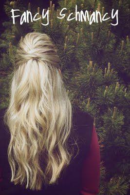 Hair Ideas, Wedding Hair, Hair Tutorials, Half Up, Fancy Schmanci, Long Hair, 30 Hairstyles, Hair Style, Cute Hairstyles