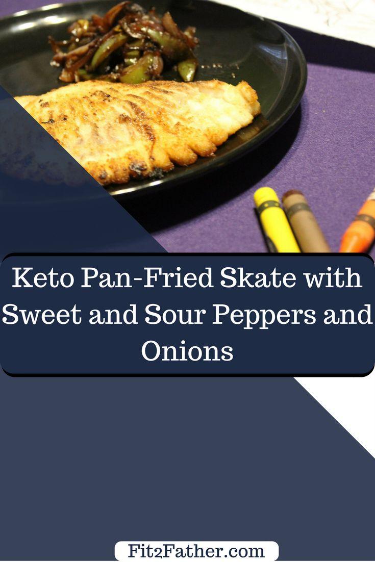 Pan-Fried Skate Fish (Low Carb)