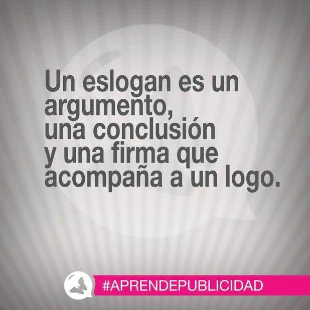 ¡El eslogan publicitario siempre es importante! #AprendePublicidad
