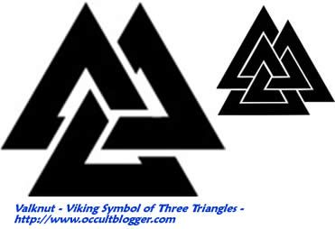 valknut symbol Its design is so unique, its look appealing and its meaning to me looks to represent a certain type of connectivity of everything, infinity and immortality.