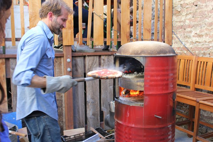 I want an outdoor pizza oven. I bet my husband will tell me... 'I could make that'