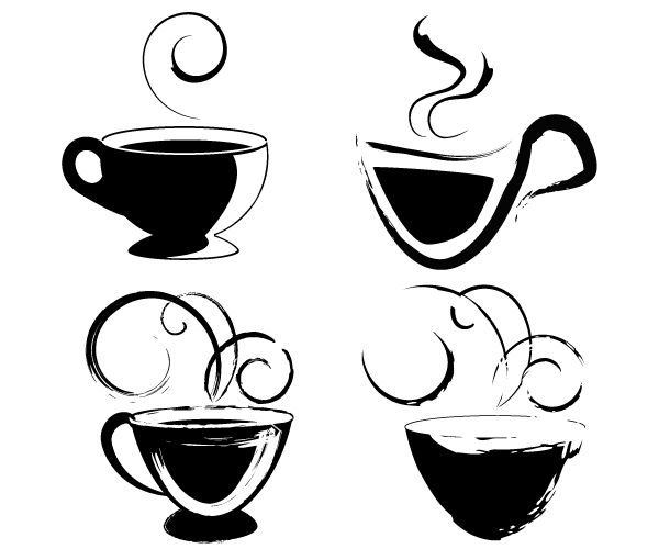 Free Coffee Cup Clip Art Vector | Download free Vector Graphics - ClipArt Best - ClipArt Best