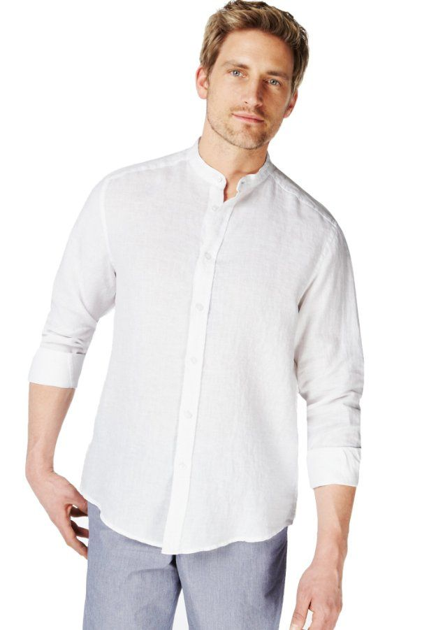 marks spencer linen shirts and collar shirts on pinterest