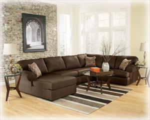 Signature Design By Ashley Cowan   Cafe Roll Arm Left Facing Corner Chaise  Sectional At Wayside