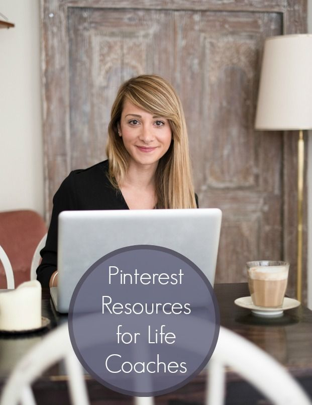 Pinterest Resources for Life Coaches. Top tips, links and the inside word on how to pin like a pro for your life coaching business and to inspire your clients!