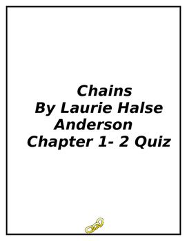 chains by laurie halse anderson essay Symbolism in chains: analyzing the novel bryan fok 8th grade  something in  common they are all symbols in the book chains, by laurie halse anderson.