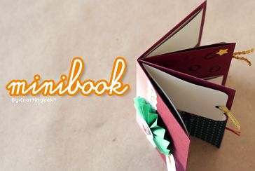 Minibook - Album Scrapbook ~ Carta   Fotos [ORIGINAL]