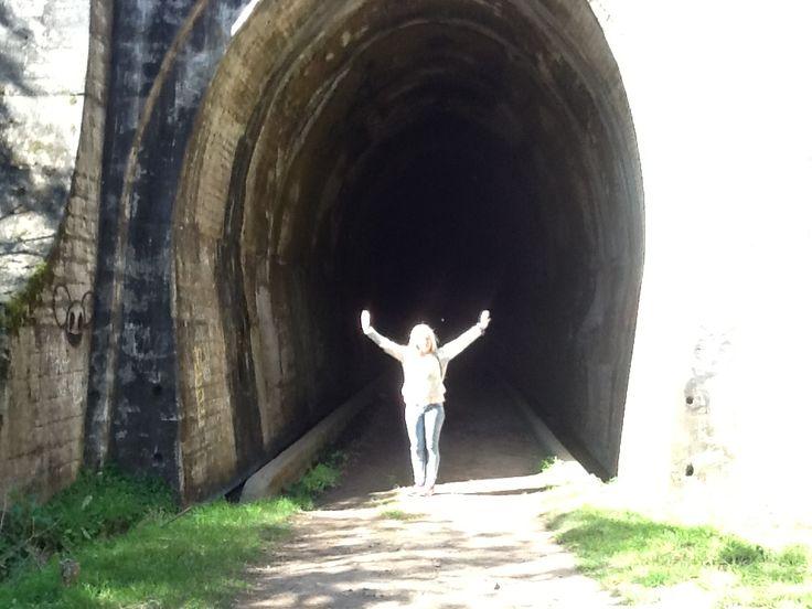 Catamarca, Tunel Ferroviario en desuso, La Merced