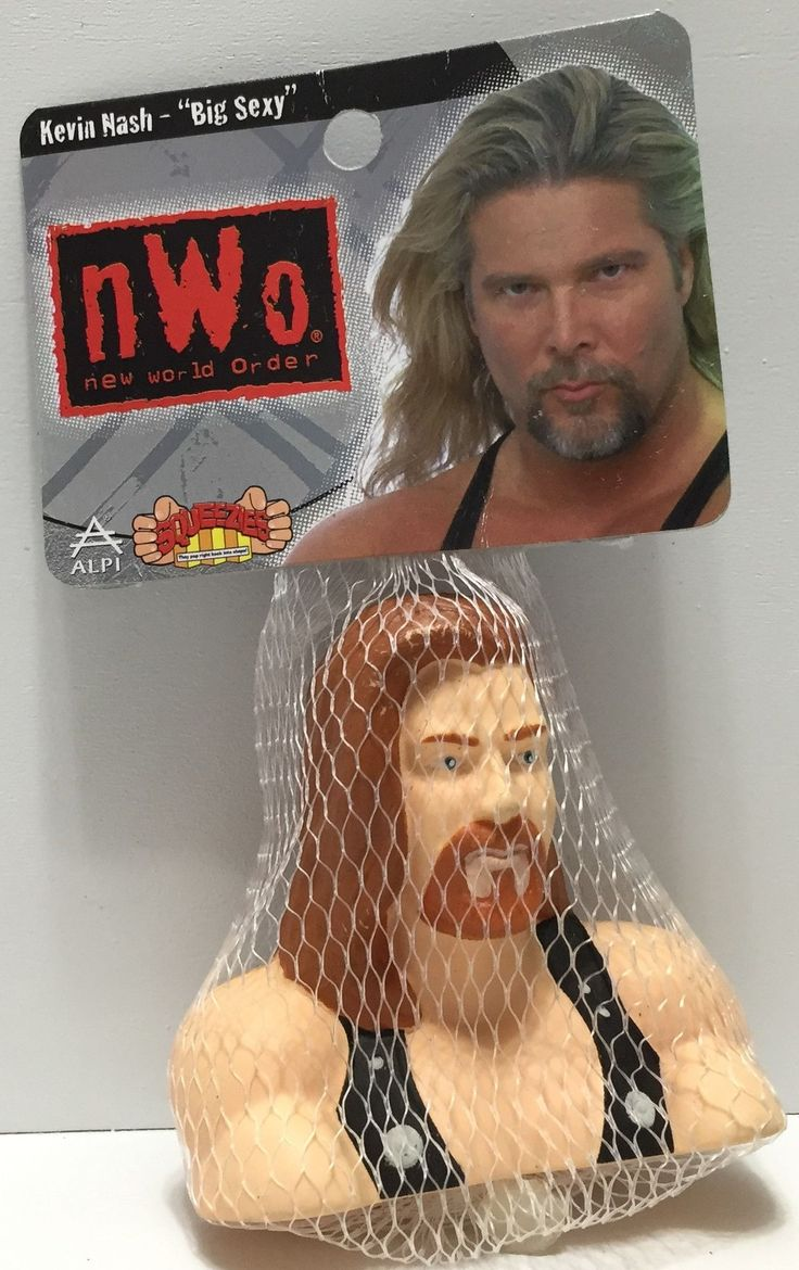 (TAS035142) - 1999 WCW nWo Wrestling Squeezies - Kevin Nash