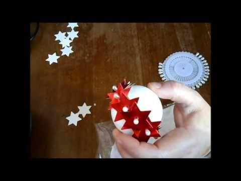 Decorazioni di Natale fatte a mano con soli 3 euro