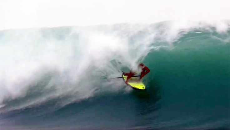 Caio Vaz takes his world champion SUP surfing skills to Indonesia...and tears…