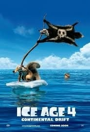The Ice Age 4: Continental Drift (2012), Manny, Diego and Sid have to start their journey because the continent has been broken that makes it to be an iceberg.