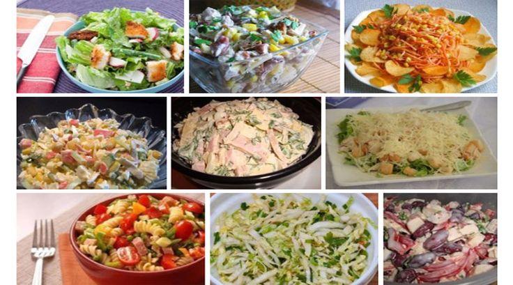 Шикарная подборка вкусных салатов. Забирайте и сохраните, пригодятся!