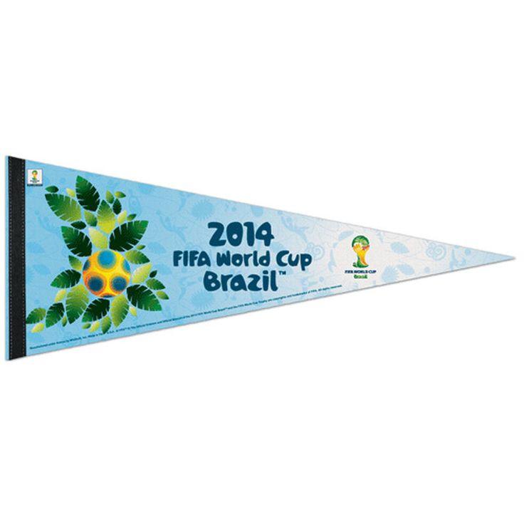 "FIFA 2014 World Cup 12"" x 30"" Pennant - Blue"
