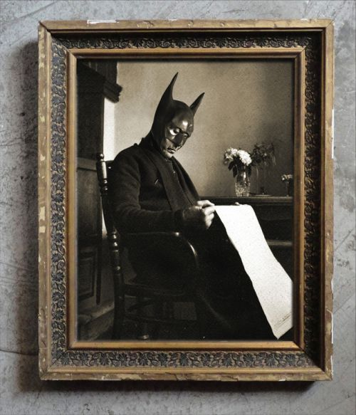 BatGradpapa in the good old BatTimes. foto-marvellini-batte-legge
