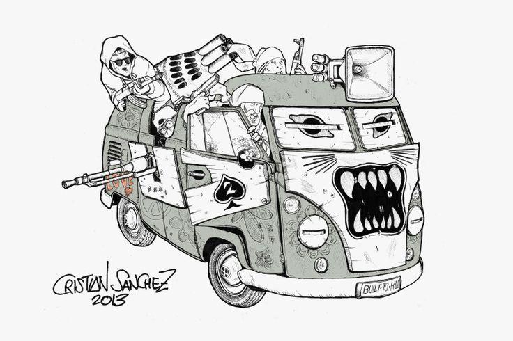 Cristian Sánchez Reus: Volkswagen Transporter