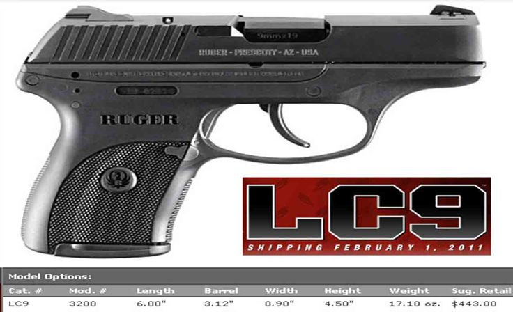 Survival Gun Review: Ruger LC9