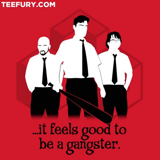 Office Space Office Gangsters Shirt