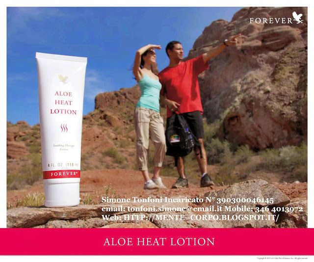Mente e Corpo: Aloe Heat Lotion