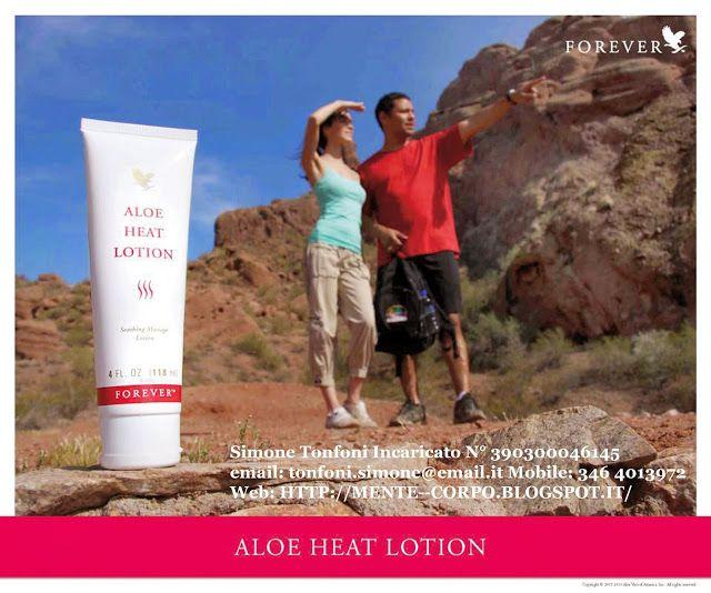 Mente e Corpo: Aloe Heat Lotion