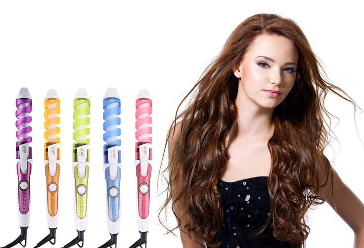 Magic Pro Perfect Hair Curlers Electric Curl Ceramic Spiral Hair Rollers Curling Iron Wand Salon Hair Styling Tools Styler