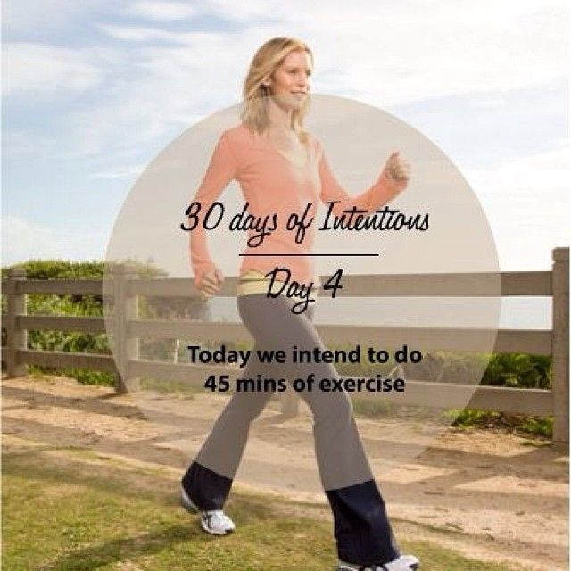 Day 4: 30 days of intentions. Today we intend to do 45 mins of exercise #walking #exercise #health #wellness #dailyintention #affirmation #stralastyle