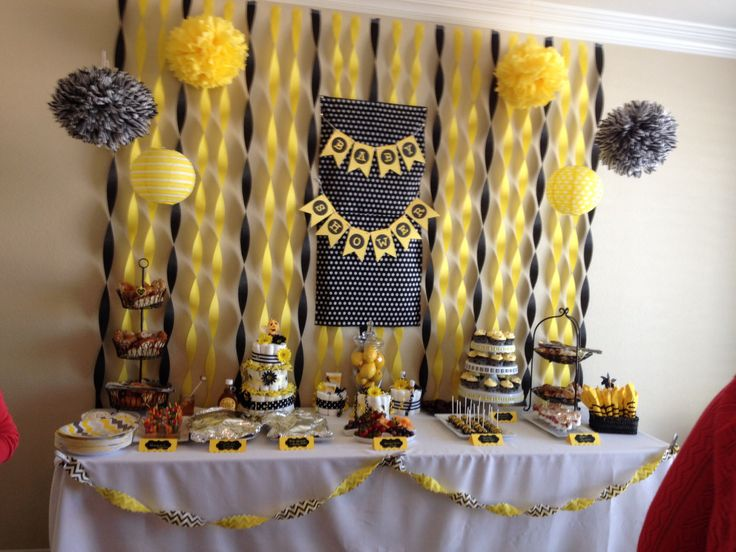 Stunning Mommy To Bee Baby Shower With Bumble Decorations