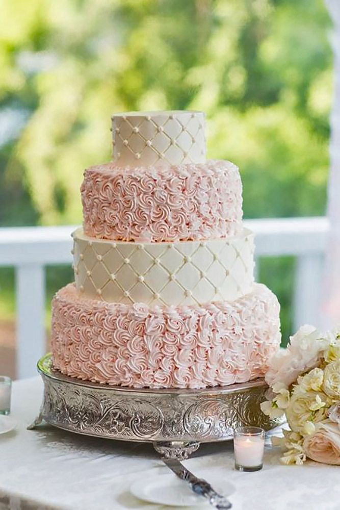 Gorgeous Textured Wedding Cakes ❤ See more: http://www.weddingforward.com/textured-wedding-cakes/ #weddings #cakes