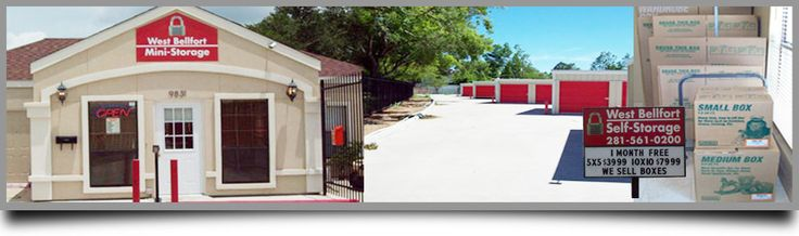 Storage, we offer superior and fully equipped storage spaces without overcharging a cent. Conveniently located at the corner of West Bellfort and Beltway 8, we offer the most secured self storage units in Houston. Call us at 281-561-0200, to know more about our wide range of self storage units.