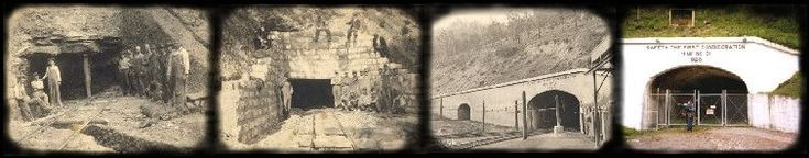 portal 31.  former coal mine open for tours by train in Lynch, Harlan County, Ky.